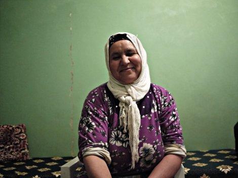 Malika,  our host.