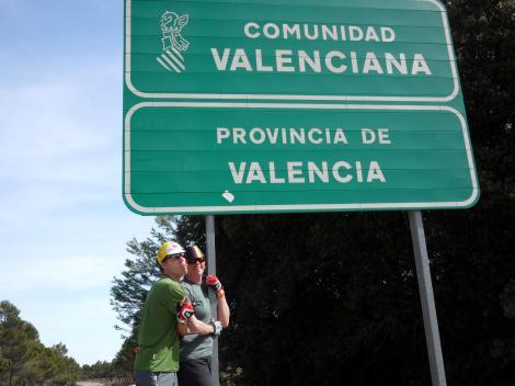 Entering Valencia