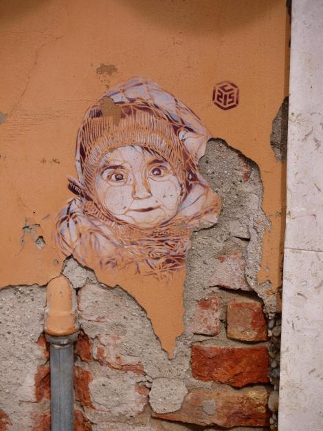 Street art in Venice