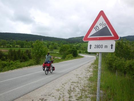 Typical Balkan cycling.