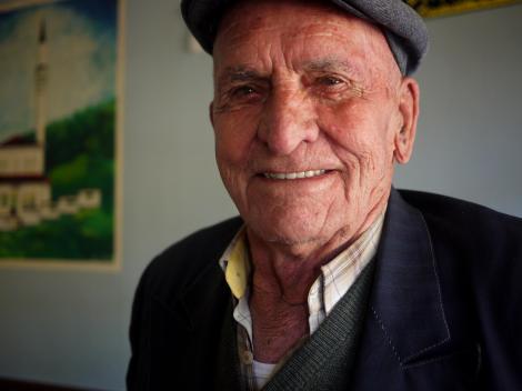 Rad old Serbian guy.