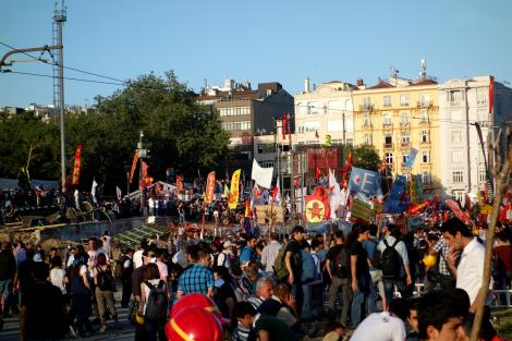 Protests in Taksim Square