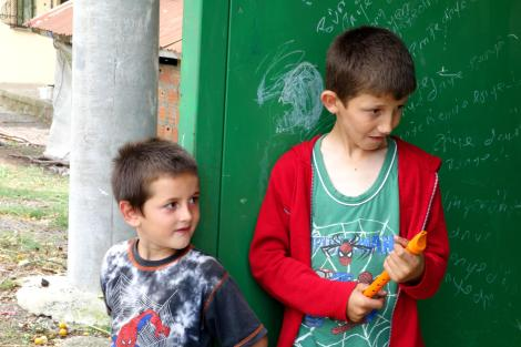 Cute Turkish kids.