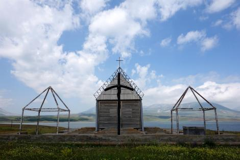 Church at Lake Paravani