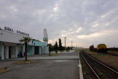 Sheki Train station.