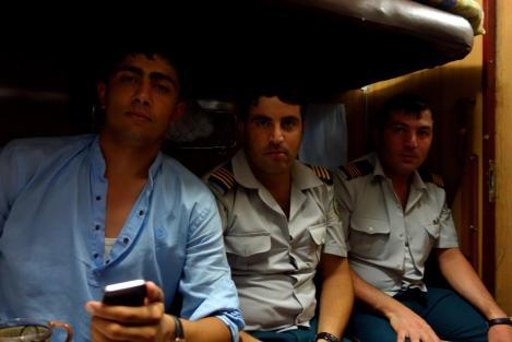 Our bunk mates.