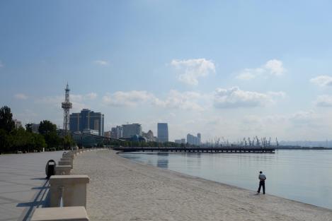 Caspian in Baku.