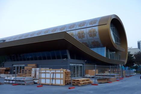 The Carpet Museum. Under construction.