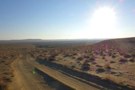 Yangikala Canyon.