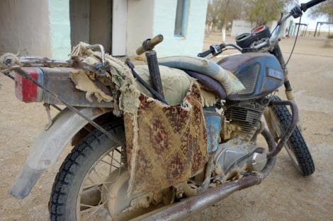 Soviet dirt bike