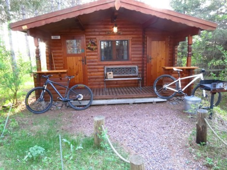 Our German Cabin for the weekend